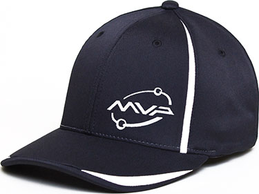 MVP Orbit logo Stretch-Fit Cap