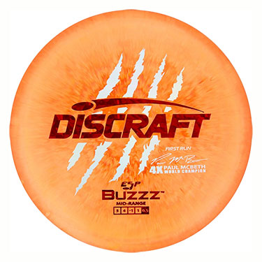 ESP Buzzz Paul McBeth First Run