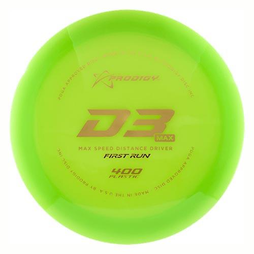 D3 Max 400 First Run